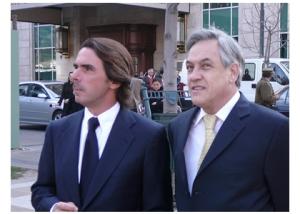 Piñera y Aznar